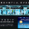 Thoracic card (ANA To Me CARD PASMO) arrives in your hand